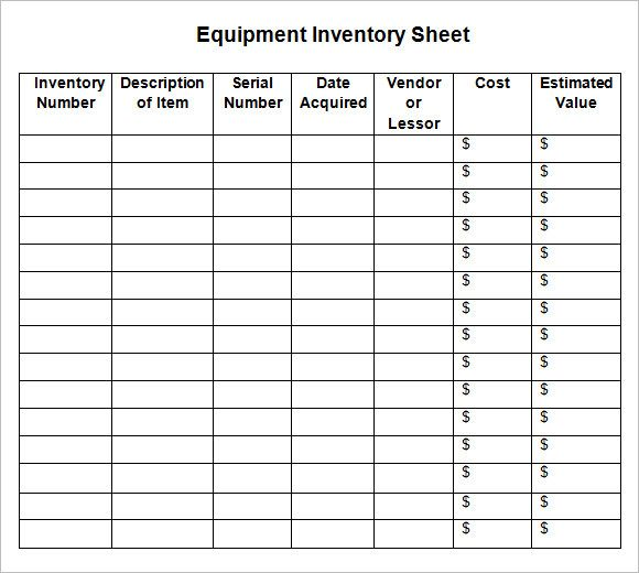 Inventory List Example Is That White Glassware Westmorelands