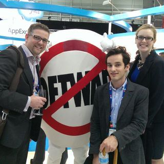 A long day at Salesforce @ Cebit