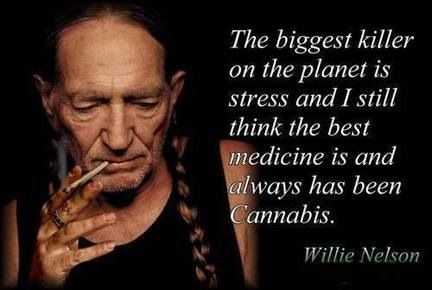 Words of wisdom from Willie Nelson.