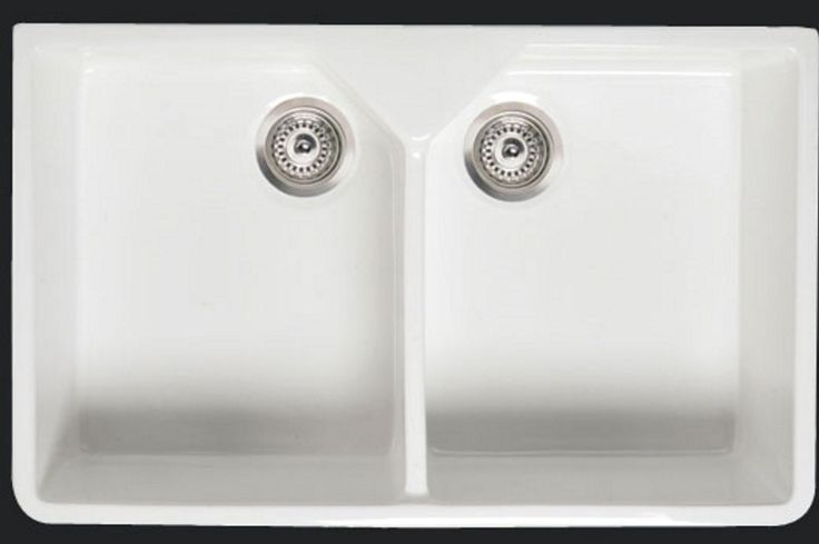 Thomas and Holland ® Double belfast butler Ceramic sink inc wastes and plumbing kit: Amazon.co.uk: DIY & Tools
