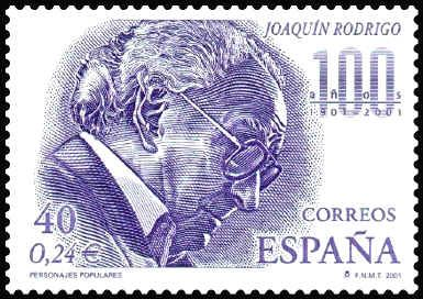 joaquin rodrigo stamp - Google Search
