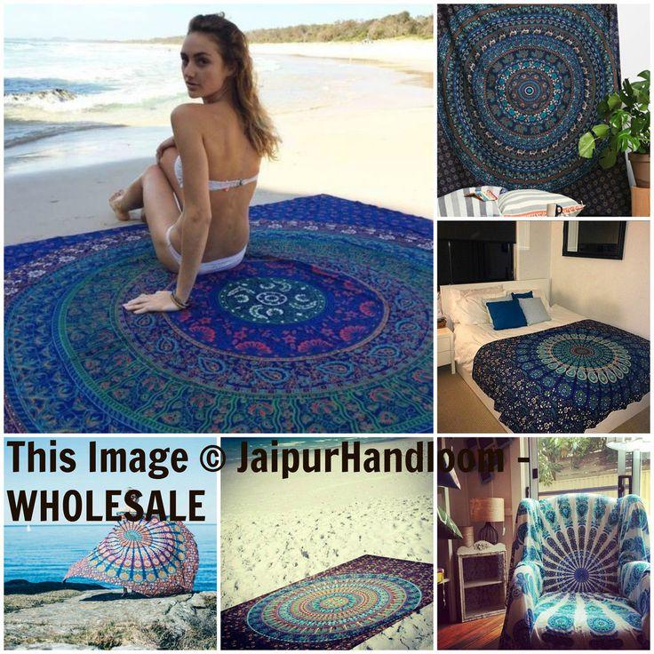 Hippie Mandala Wall Tapestries Cheap Wall Hanging : Wholesale set of 75 pcs twin size