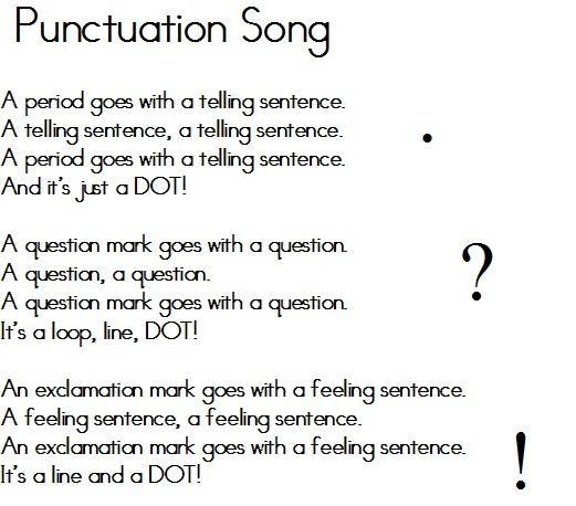 song title punctuation