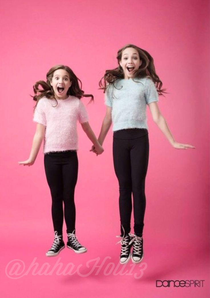 Added by @hahah0ll13. Dance Spirit Magazine: Dance Moms Maddie and Mackenzie Ziegler