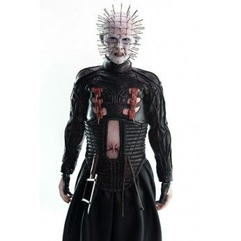 Preorder this Threezero action figure now. flexible payments & free EU shipping. This Pinhead from Hellraiser stands at 30cm 1/6 scale and is fully posable.