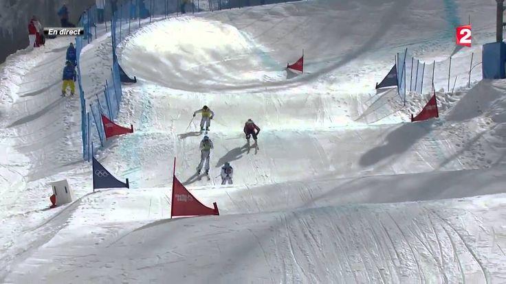Skicross : le triplé français historique à voir en vidéo - JO Sotchi 2014
