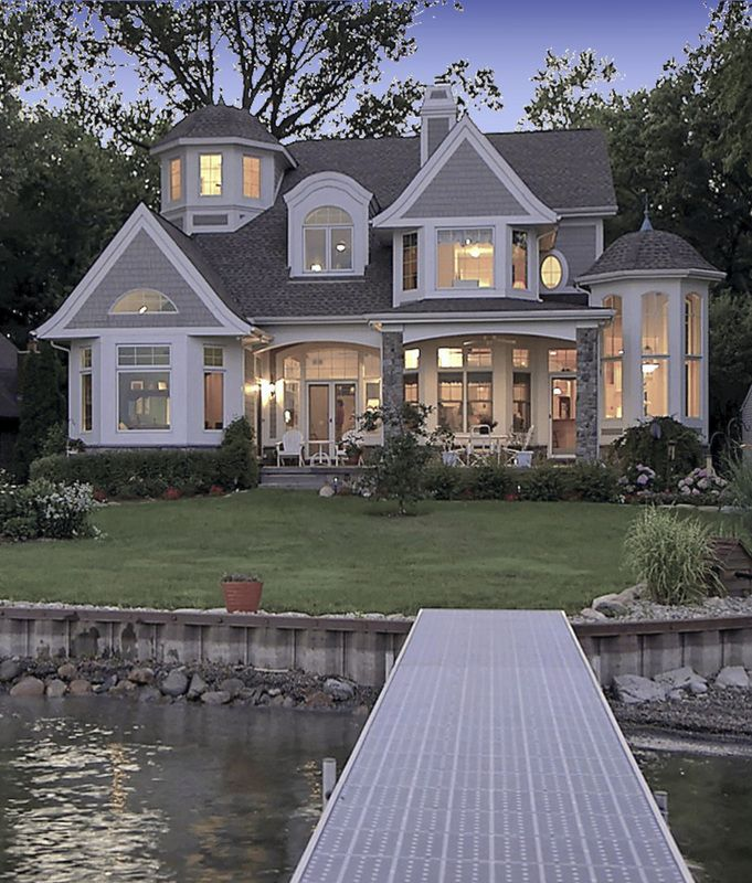 Shingle Style Lake House