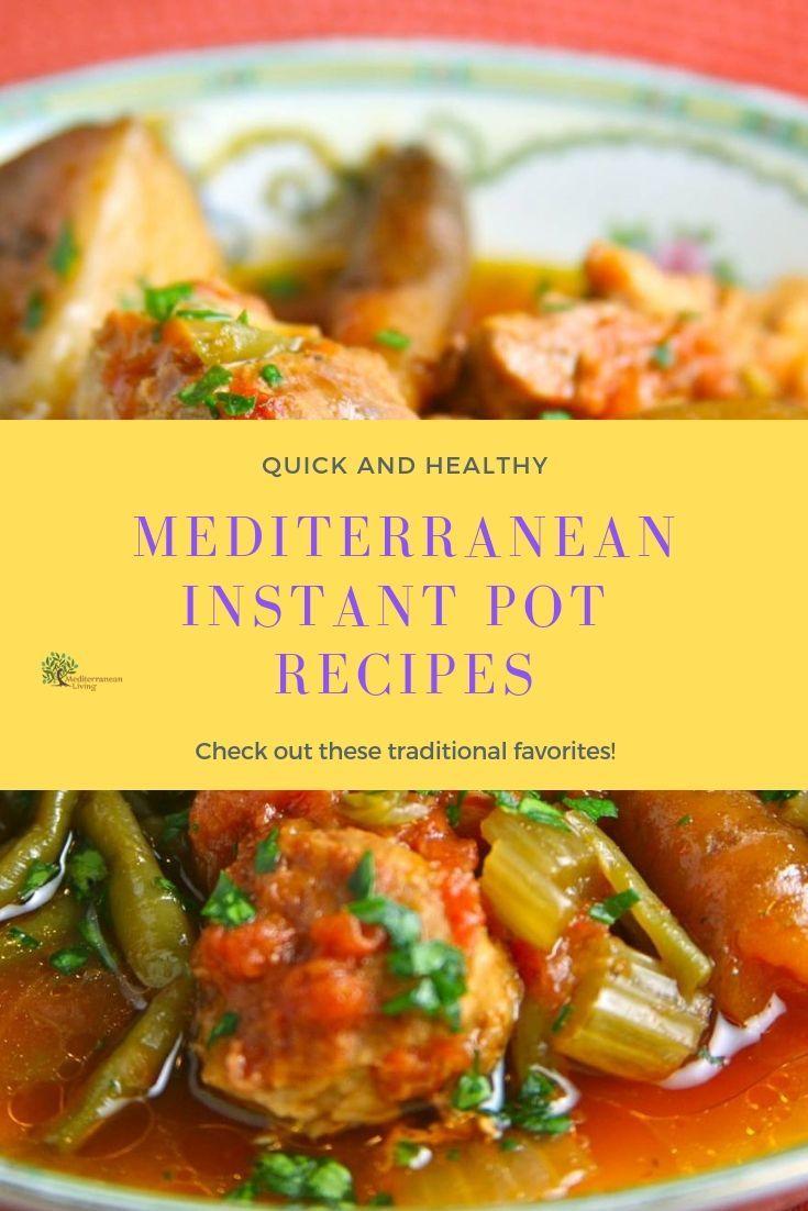 7 recetas mediterráneas de olla instantánea   – Instant Pot Mediterranean