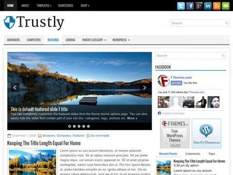 Trustly WordPress theme