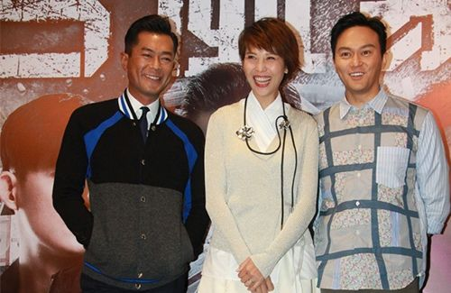 """Crime film """"S Storm"""" celebrates its box office success. Ada Choi confirms her TVB return with """"Inbound Troubles 3""""."""