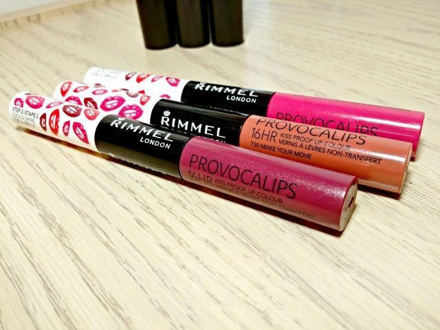 Rimmel Provocalips Kiss Proof Lip Color Haul Swatches Fancieland Lip Colors Rimmel Provocalips Kiss Proof