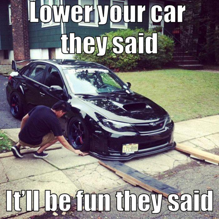 lower your car... via topoftheline99.com