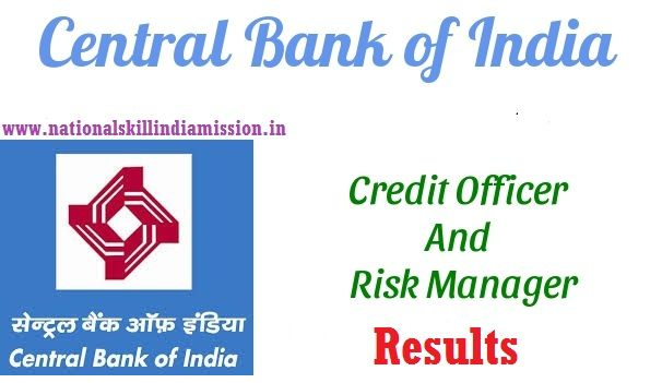 Central Bank of India – Credit Officer & Risk Manager Written Test Results Released  Central Bank of India – Credit Officer & Risk Manager Written Test Results 2017: Central Bank of India has declared written test results for the posts of Credit Officer & Risk Manager in Scale – II. Written Test was held on 01 & 04-11-2016. Appeared candidates can check their result at below link…