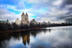 New York City Sky Scrapers Reflecting in the Water by Brittany Rose Photography: Cities Sky, Sky Scraper, New York Cities, Scraper Reflection, Art Photographers, Rose Photography, Brittanyrosephotography Org, New York City, Brittany Rose