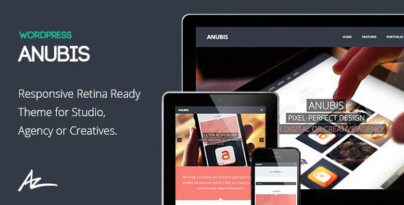 Anubis WP - Responsive Portfolio & Blog Theme
