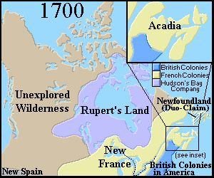 A Brief History of Canada - 1700 to 1799