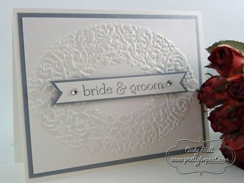 Sweet Essentials Wedding by Cindy Hall - Cards and Paper Crafts at Splitcoaststampers