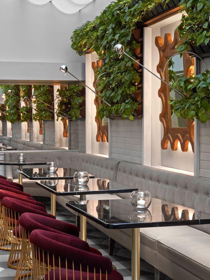 ... sur Pinterest  Restaurant, Industriel et Design intérieur restaurant