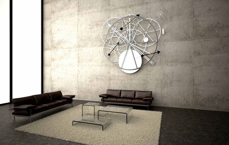 """TM4 """"MASTER COLLECTION"""", by SCHLUMPF, hanging in modern living room with Italian furniture"""