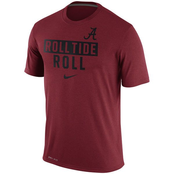Alabama Crimson Tide Nike Roll Tide Legend Local Verbiage Dri-FIT T-Shirt - Crimson - $29.99