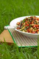Chickpea and Bean Salad Recipe - weightloss.com.au
