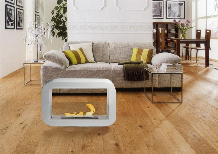 The Lotus ethanol fireplace from zenflames.com