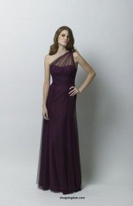 Spring 2012 Wtoo Bridesmaid Dresses Collection-Eggplant