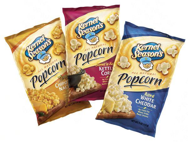 Kernel Season's Popcorn by Jose Parado, via Behance