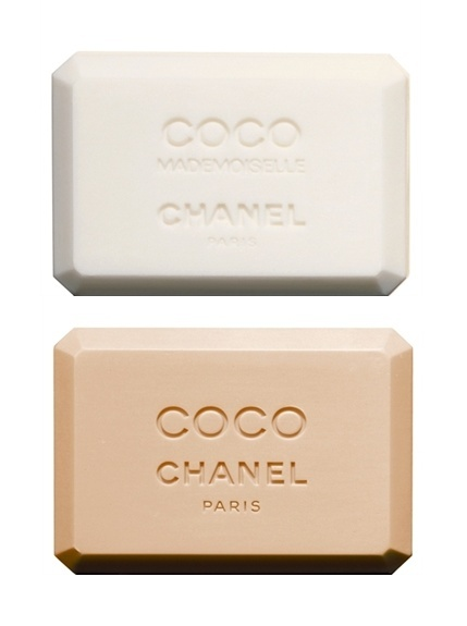 Not natural and homemade, but can't resist it! coco mademoiselle chanel and coco chanel soap: