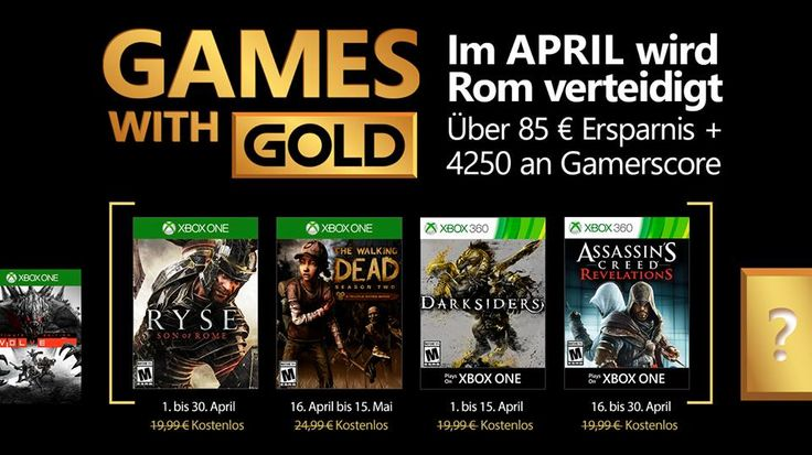 [Xbox] Games with Gold Abril 2017
