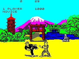 Way of the Exploding Fist (ZX Spectrum)