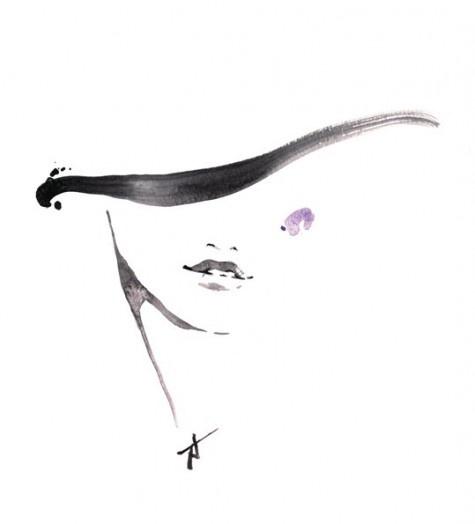 Fashion illustrator Yasunari Awazu