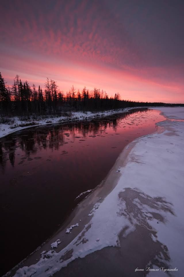 Yamal tundra. Photo: Danil Khusainov #Arctic #ArcticArt #Yamal #Russia #ArcticInfo #tundra