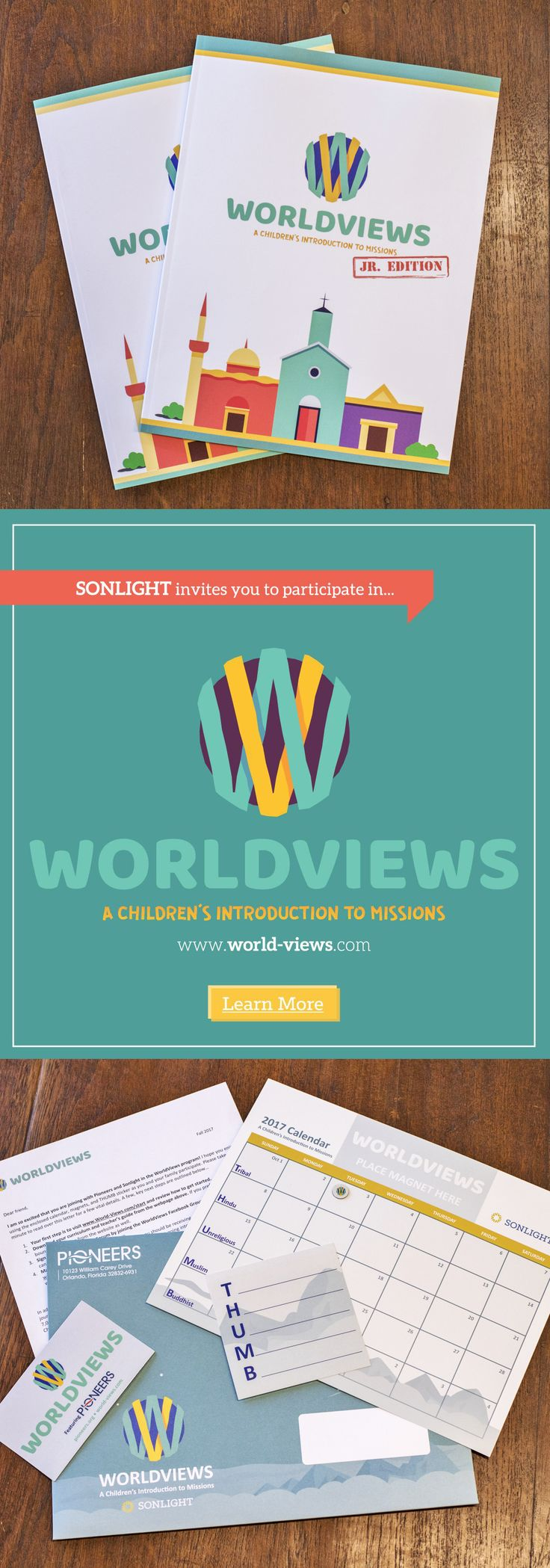 WorldViews is a free digital curriculum and video series that will teach you and your children about the five primary religious views held by the nearly 7,000 people groups around the world who still don't have a strong church planting or evangelical movement in their midst (the THUMB groups: Tribals, Hindus, the Unchurched, Muslims and Buddhists. • Christian homeschool curriculum • Worldview unit study • world religions