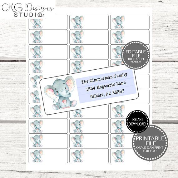 Mer enn 25 unike ideer om Address label template på Pinterest - address label template