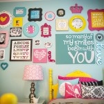 Big girl roomWall Decor, Decor Organic, Frames, Girls Bedrooms, Colors, Cute Ideas, Room Ideas, Gallery Wall, Big Girls Room