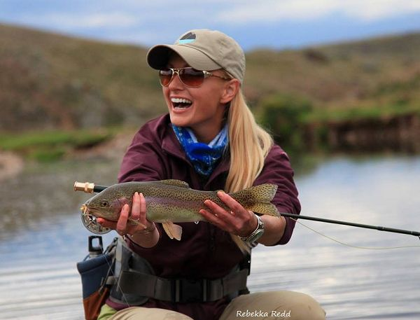 26 best lady anglers images on pinterest fishing women for Fly fishing girls