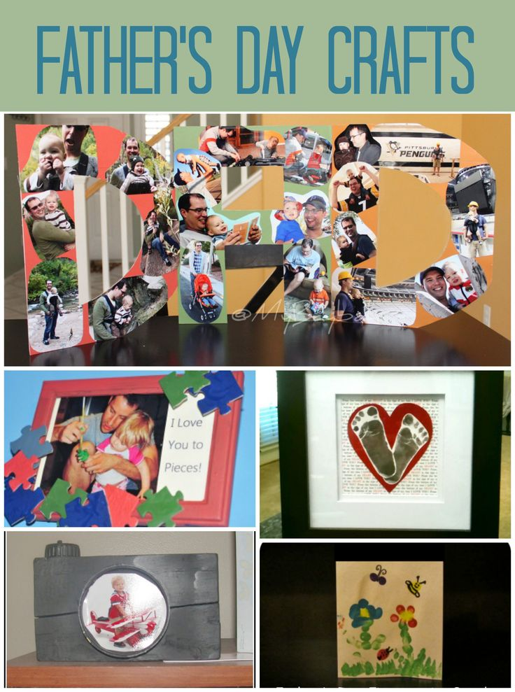 Fathers Day Crafts #FathersDay #DIY: Fathers Day Crafts, Fathers