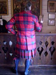Lady Chrystel kilts from France Auld Alliance kilts for sale DOUBLET AND PERIOD JACKET