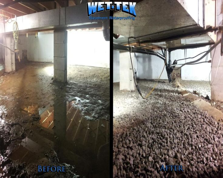 Protect your family from molds and mildews linked to resiratory ailments associated with a wet basement. WetTek provides a variety of products and services to help keep your basement water free both inside and out. Call us at 613-969-6309
