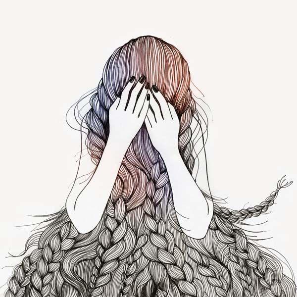 found in pinterest /Hair <3  Chiara Attorre