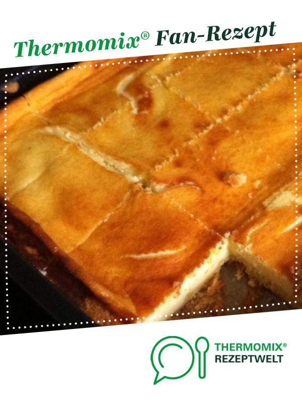 Bolo de queijo saboroso no mundo de Sonnentai. Uma receita Thermomix ® da K …   – Kuchen und Gebäck