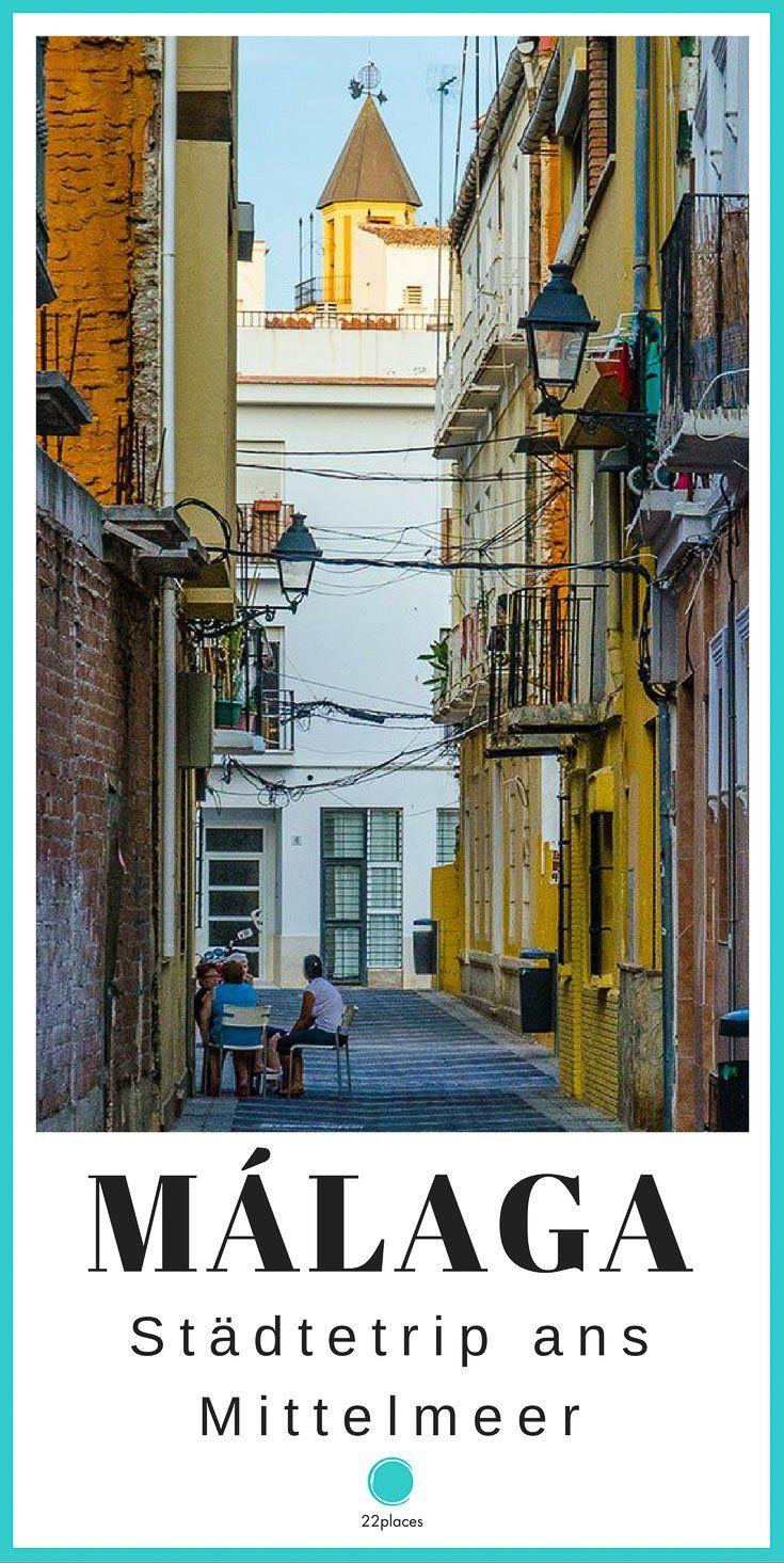 Málaga Reise-Tipps: Die besten Tipps für deine Städtereise nach Málaga. Unsere Expertin Rebecca hat fast ein Jahr in Malaga gelebt und zeigt dir die schönsten Ecken der Stadt!