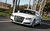 2012 Audi A8 Front End In Motion
