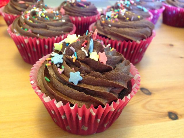 Forgotten someone's birthday? No problem! Whip up a batch of super easy chocolate cupcakes and everyone will be happy!