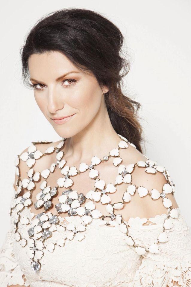 Laura Pausini - wearing Total look H&M