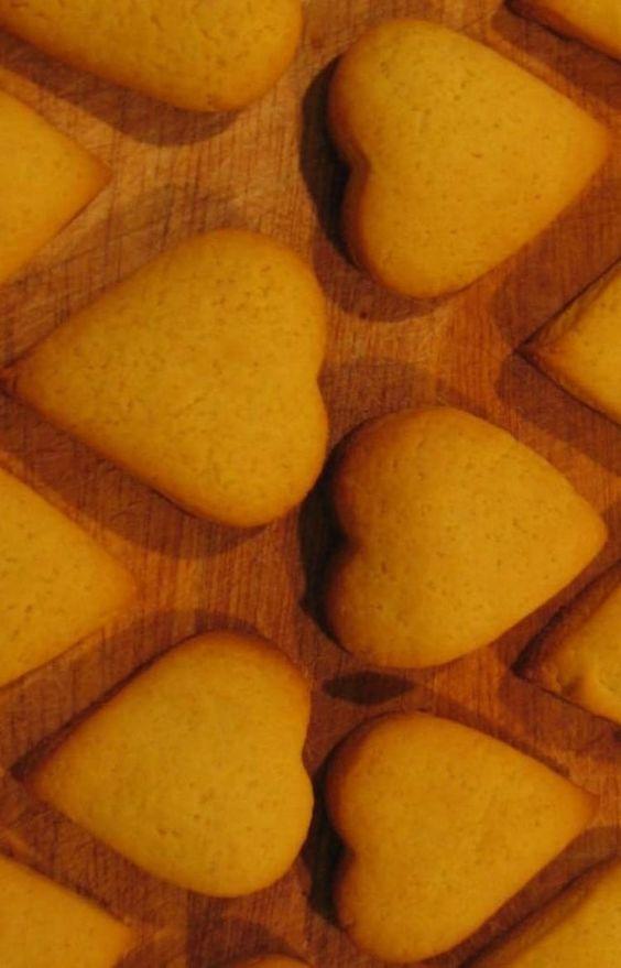 Sablés à la vanille et à la crème anglaise