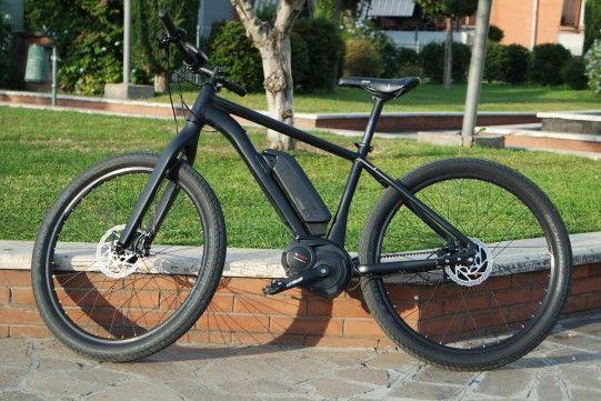 test bici elettrica Cube SUV Hybrid