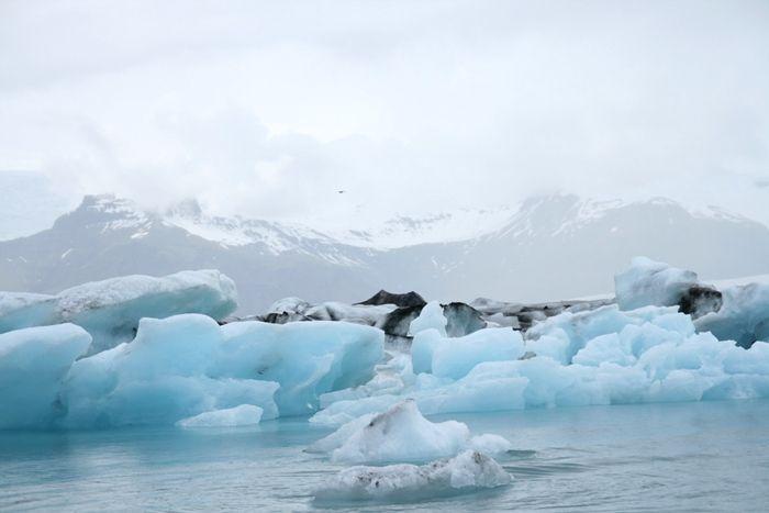 アイスランド 氷河湖 : 好きな写真と旅とビールと