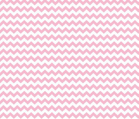 chevron i think i ♥ u light pink and white fabric by misstiina on Spoonflower - custom fabric